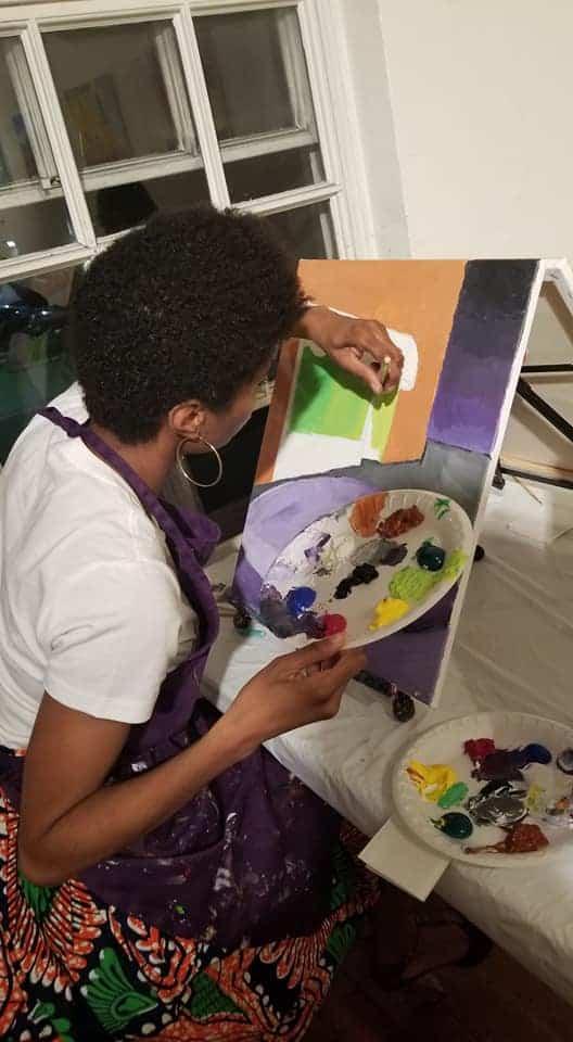 Amiyrah Martin painting 1