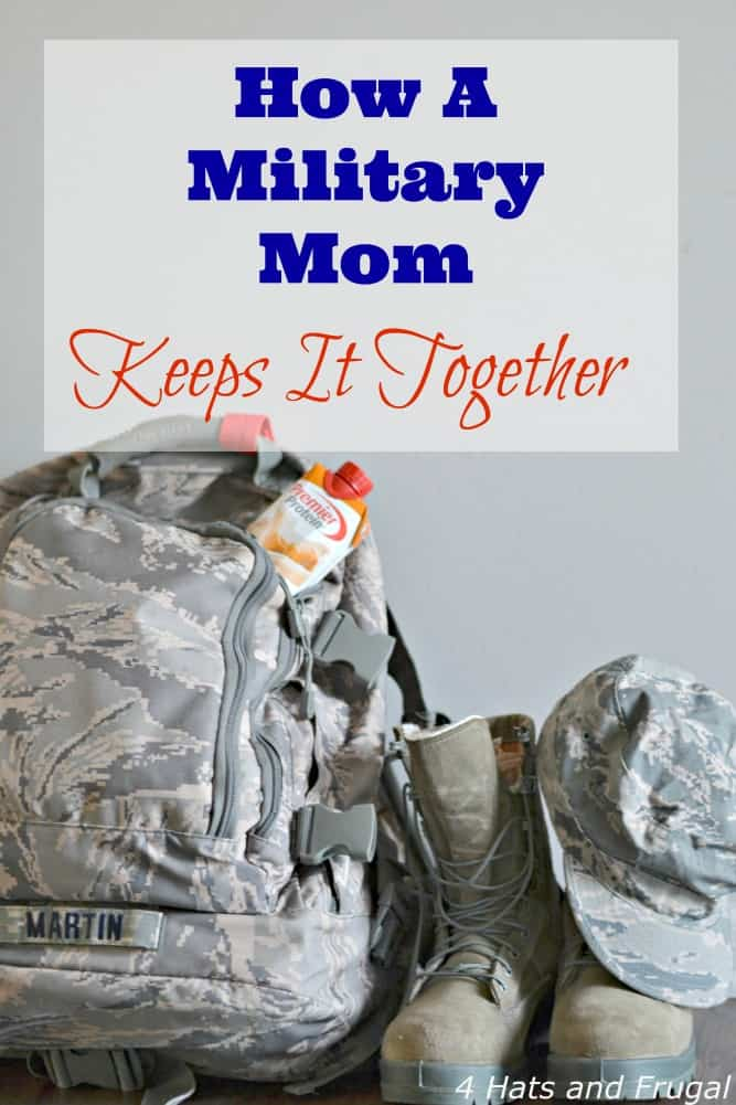 How A Military Mom Keeps It Together - Military Hour hero