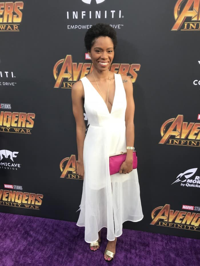 Fun On The Avengers Infinity War Red Carpet And World