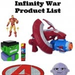 The Ultimate Avengers: Infinity War Products Round-up!