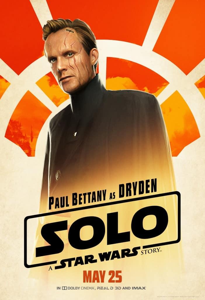 Dryden Vos Han Solo movie