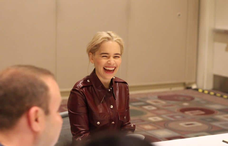 Exclusive Interview with Emilia Clarke