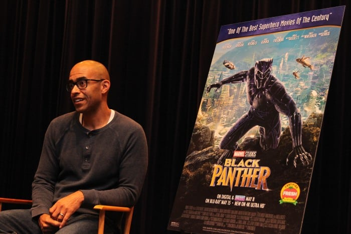 Exclusive Interview with Executive Producer Nate Moore - Black Panther
