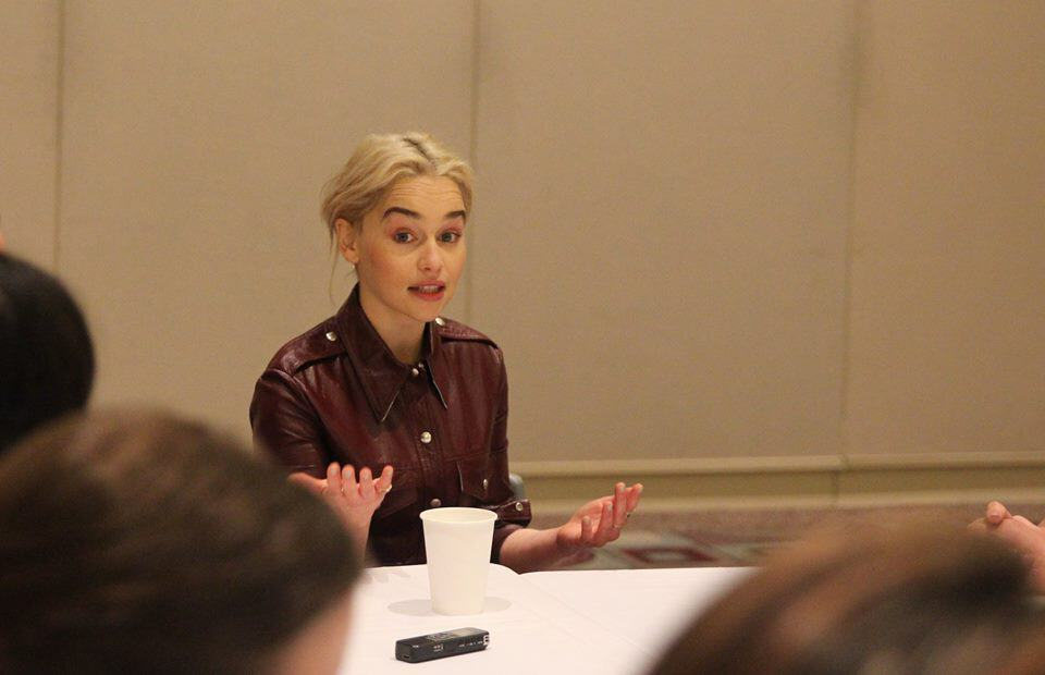 Interview with Emilia Clarke