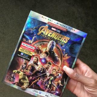 Avengers Infnity War Blu-ray