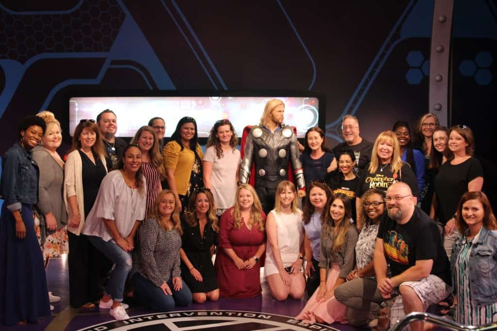 Avengers Madame Tussauds LA