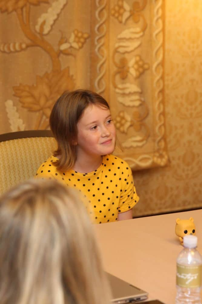 Bronte Carmichael Christopher Robin Interview