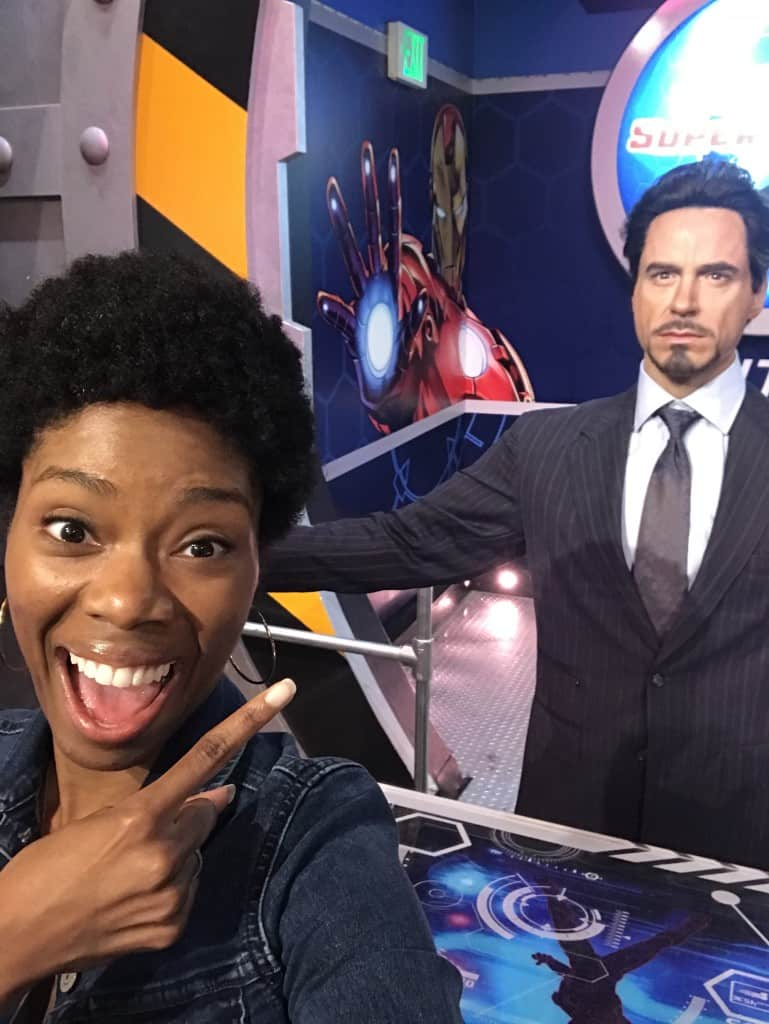 Tony Stark Madame Tussaud's Hollywood