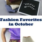 My Fashion Favorites for October