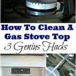 How To Clean A Gas Stove Top – 3 Genius Hacks