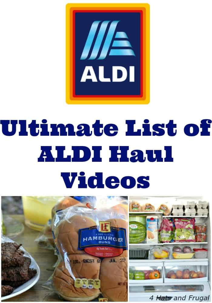 Are you an ALDI lover? You have to check out this ultimate list of ALDI haul videos from YouTube.