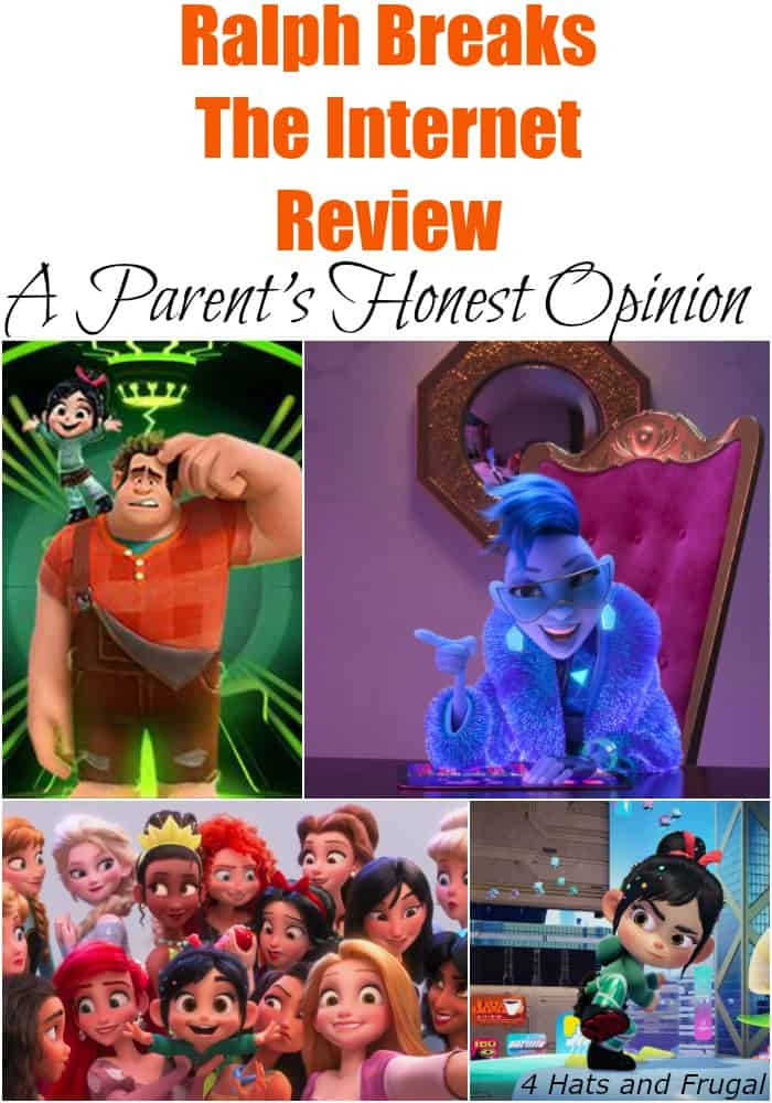 This spoiler-free Ralph Breaks The Internet review is an honest parent's opinion of the appropriate nature of the film for small kids, and other family members who enjoy Disney films.