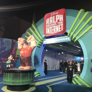 Ralph Breaks The Internet red carpet