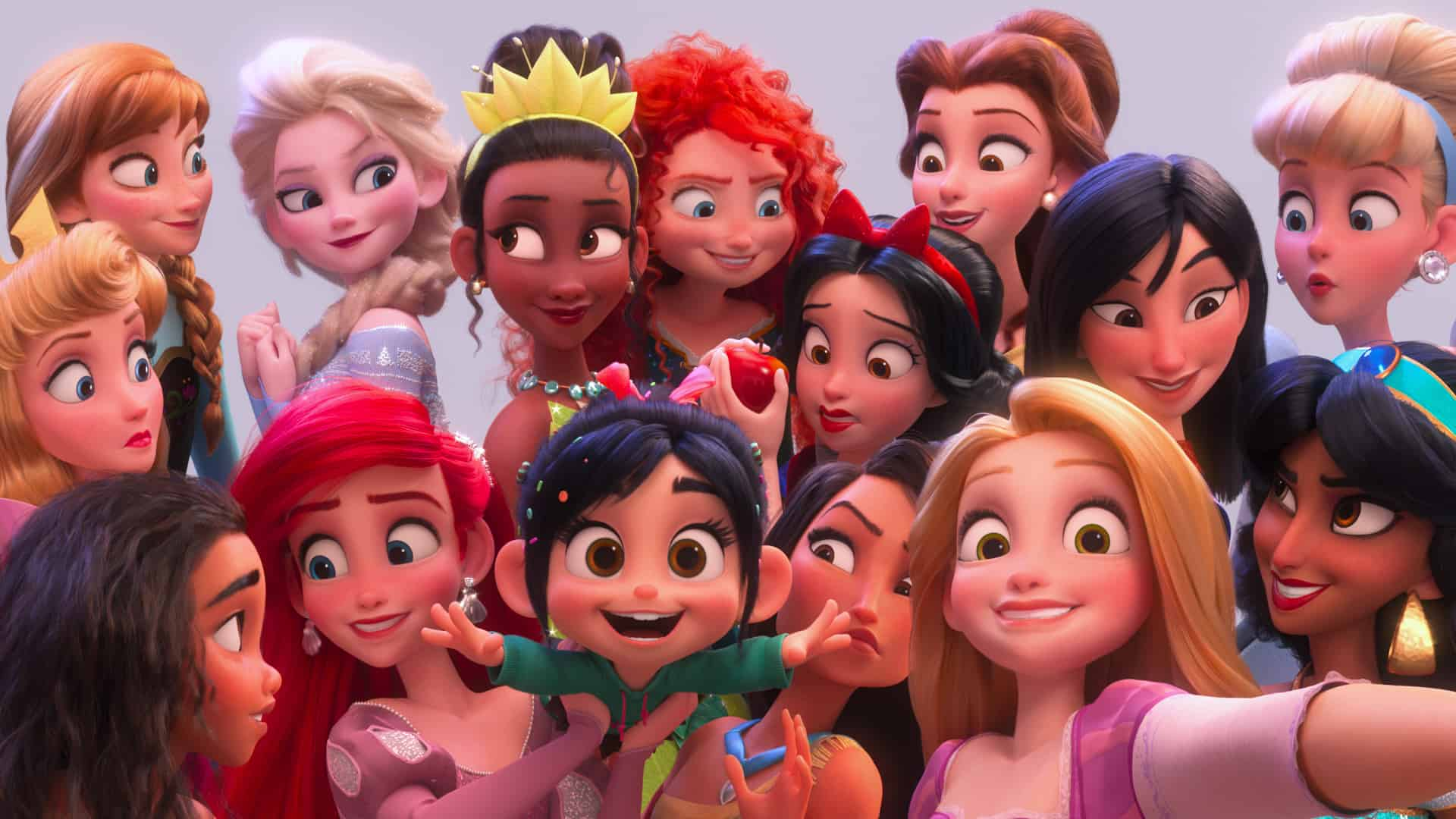 The Disney Princess Scene and Genius of Pamela Ribon - Ralph Breaks The Internet