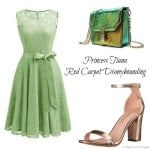 Red Carpet Princess Tiana Disneybound Outfit for less!