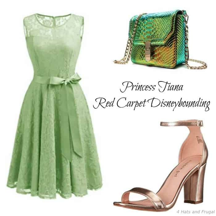 Check out this red carpet Princess TIana Disneybound outfit! It's so cute and under $75 for the whole ensemble.