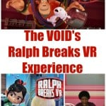 The VOID – Ralph Breaks VR Experience