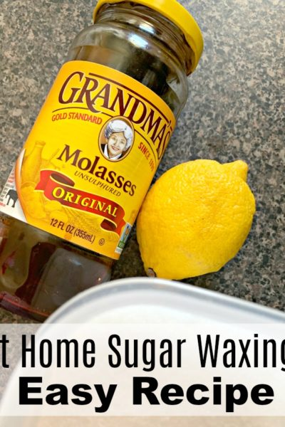 At Home Sugar Waxing is an all-natural way to get rid of unwanted hair in the comfort and privacy of your own home. Complete recipe and instructions.