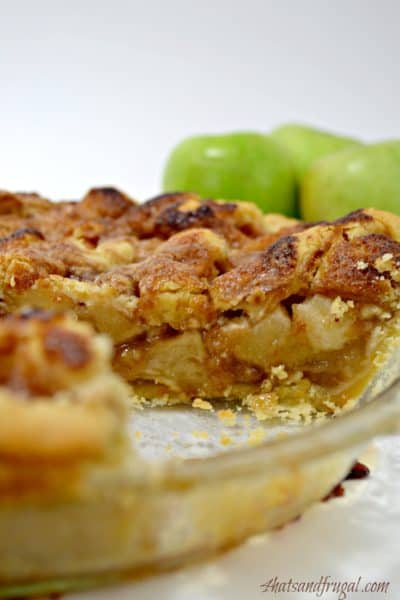 This recipe for easy apple pie takes most of the daunting steps out of a good pie and turns them into a simple process. Plus, there's a lattice top!
