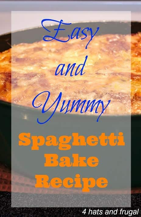 Easy and yummy spaghetti bake recipe