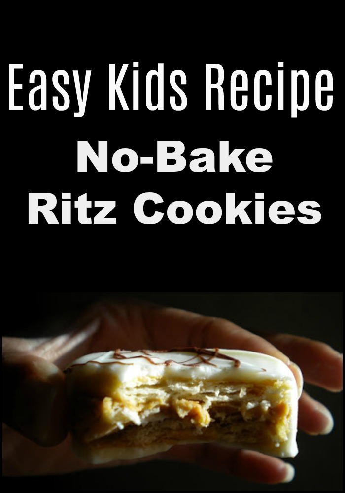 The easiest cookies you'll ever make. Ritz cookies are no-bake and always a crowd-pleaser. Even kids can make them on their own!
