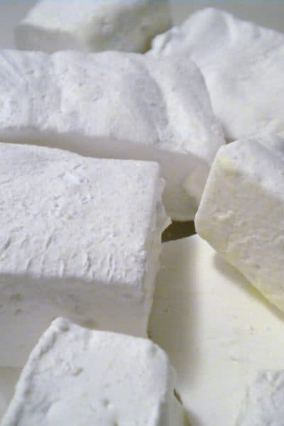 homemade marshmallows, marshmallows from scratch, homemade gifts