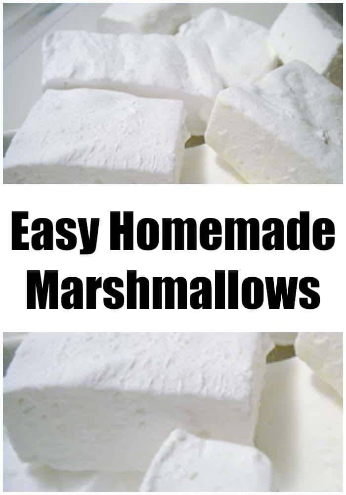 This is an easy recipe for homemade marshmallows, that's a perfect DIY holiday gift. Yes, you can make marshmallows from scratch in your own home!