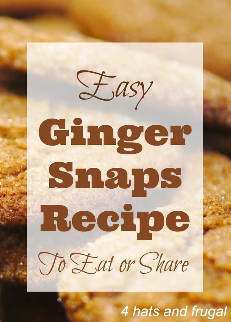 Easy Ginger Snaps
