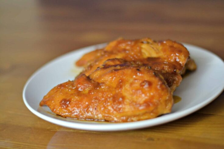 An easy recipe for Apricot Chicken that uses items right in your pantry. Plus, there is a video tutorial!