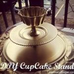 DIY cupcake stand, DIY, DIY gift,