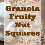 Udi's Granola Fruity Nut Squares