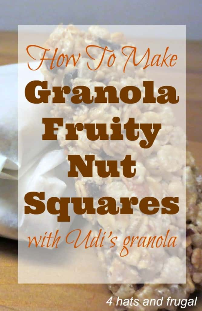 Granola Fruity Nut Squares - a super simple recipe!