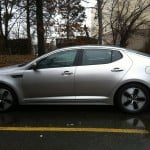 kia optima, hybrid car, car review