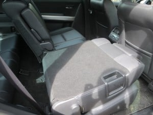 fold down seat in Mazda CX9