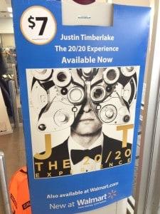 Justin Timberlake, Walmart
