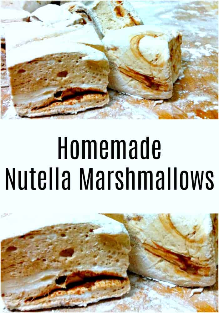 This easy recipe for Nutella marshmallows will be a perfect addition to your hot chocolate, or wrapped up as a delicious holiday gift.