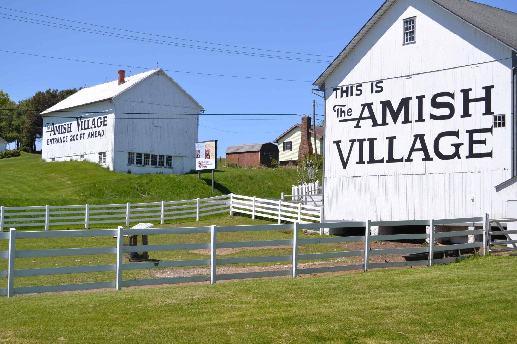 Amish Village, Ronks PA, #VisitLancaster