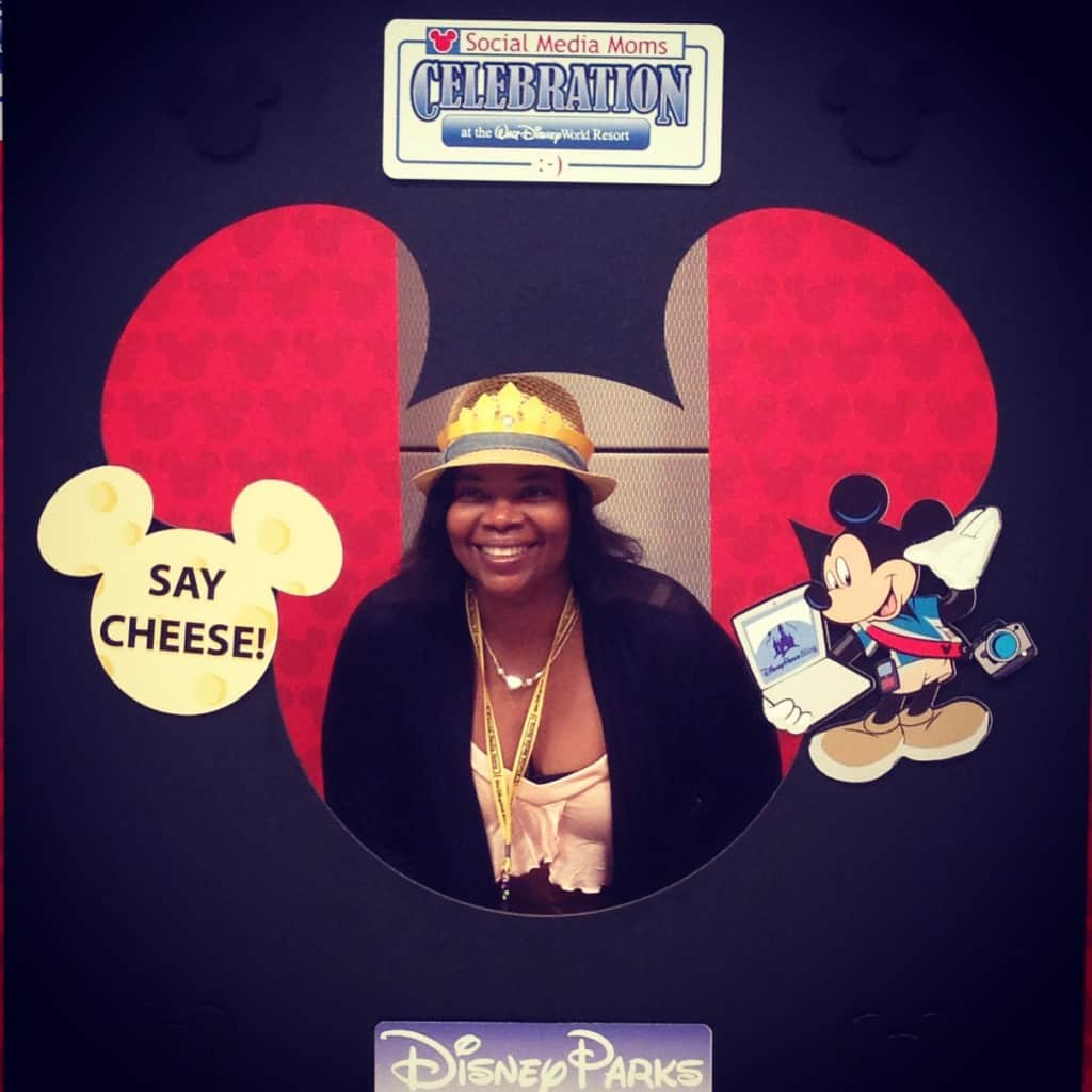 #DisneySMmoms, mom smiling