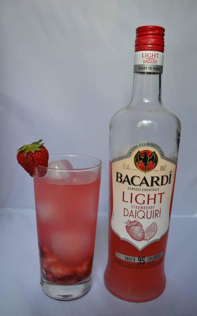 strawberry daiquiri, easy cocktail, girls night in