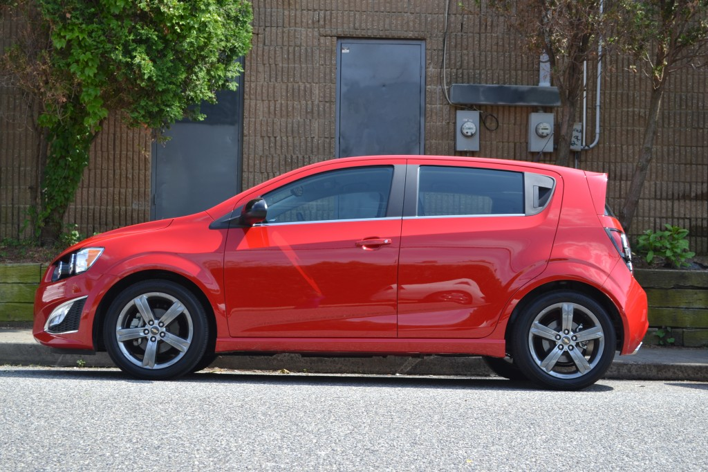 chevy sonic review