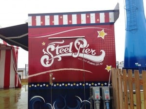 summer fun at Steel Pier