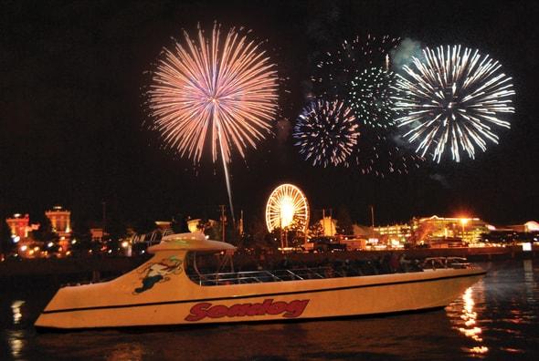 speedboat cruise, Chicago