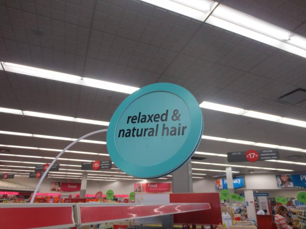 natural hair haul at CVS
