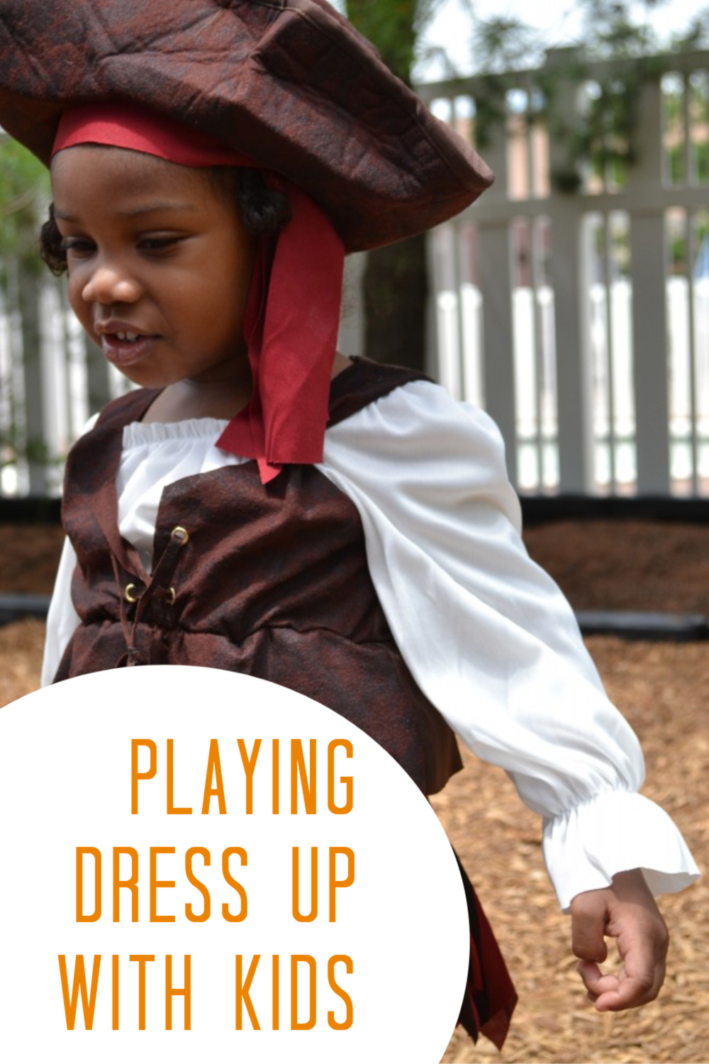 Playing dress up with kids is a great way to get them active, and stretch their imagination. This mom shares how she does it with her 2 and 7 year old.