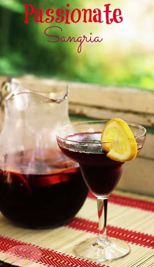 Summer cocktail, Passionate Sangria