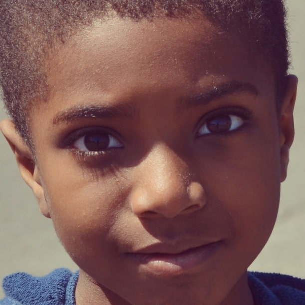 "there's magic in this face. He's not just ""some black boy"""