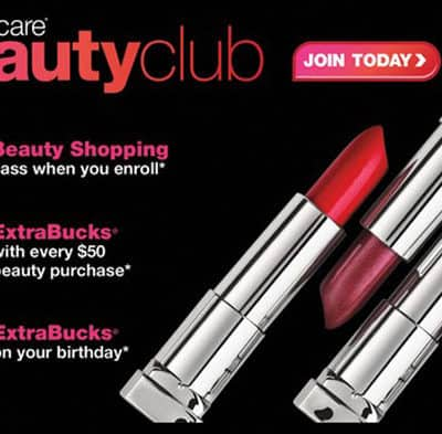 CVS Beauty Club benefits