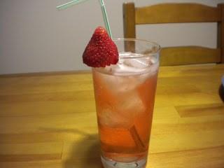 summer mocktails, homemade strawberry soda