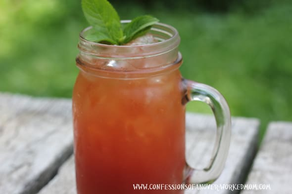 summer mocktails, Templeton Iced Tea