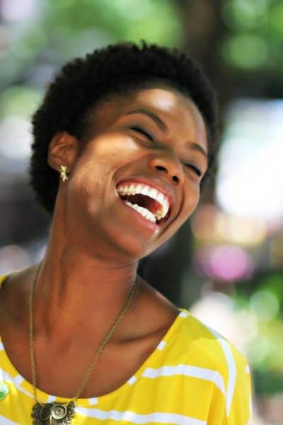 Laugh (photography by Lucrecer Braxton)